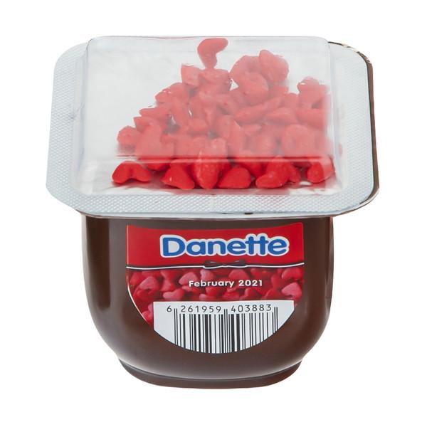 دسر شکلاتی دنت به همراه تاپر قلبی - 100 گرم
