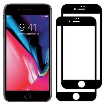 محافظ صفحه نمایش مدل FCG مناسب برای گوشی موبایل اپل iPhone 8 Plus بسته دو عددی