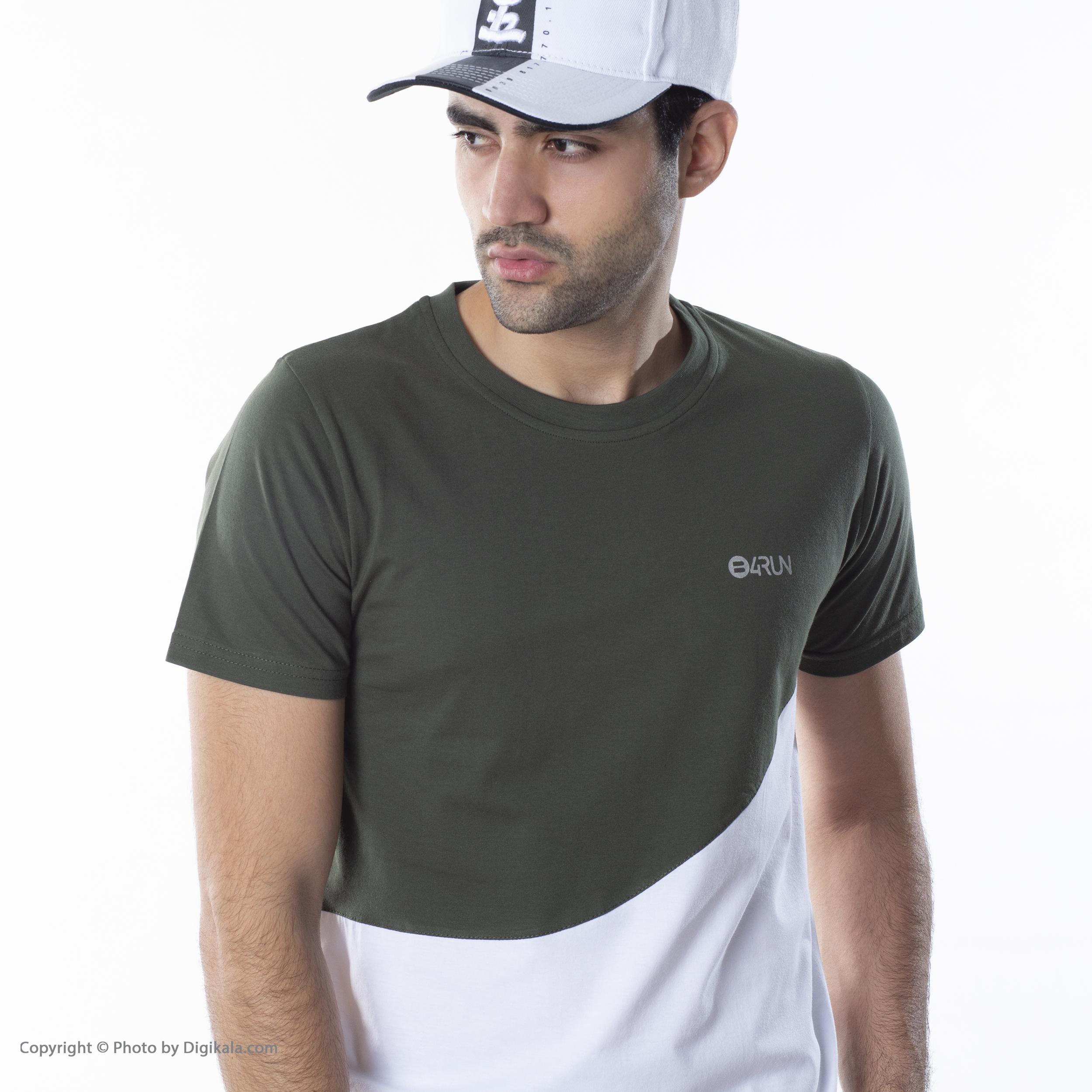 تی شرت ورزشی مردانه بی فور ران مدل 210314-4301 -  - 2