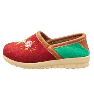کفش دستدوز زنانه انگشتدونه مدل گلبهار کد SN01