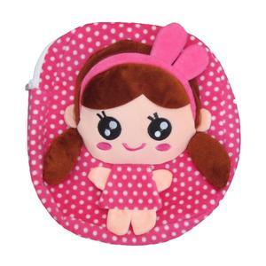 کوله پشتی دخترانه طرح عروسکی مدل M13
