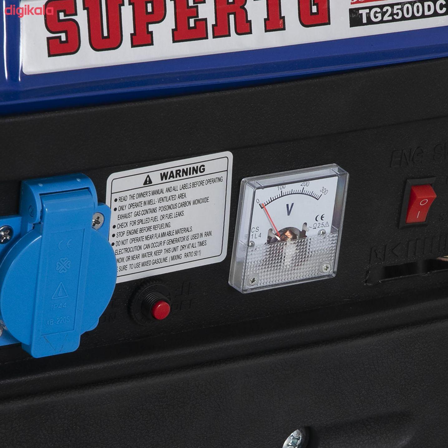 موتور برق بنزینی سوپر تی جی مدل TG2500DC کد 2 main 1 2