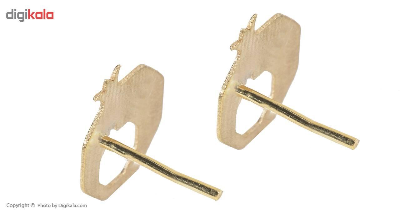 نیم ست طلا 18 عیار ماهک مدل MS0056 - مایا ماهک -  - 5