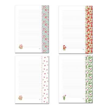 کاغذ یادداشت حاشیه دار ستوده کد sbox037 سایز A4 بسته 100 برگی