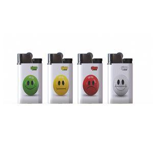 فندک دیجیپ مدل Smiley بسته 4 عددی سایز کوچک