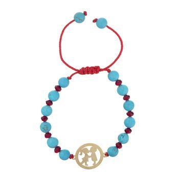 دستبند طلا 18 عیار ماهک مدل MB0593 - مایا ماهک