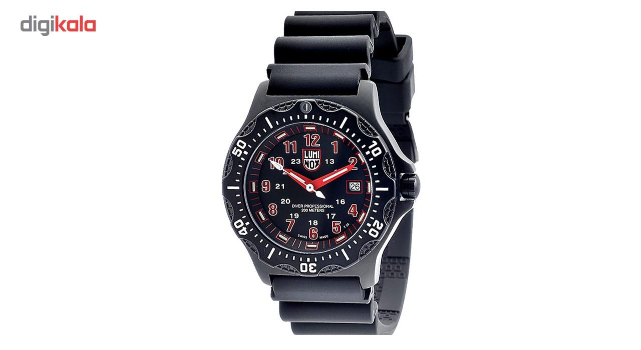 ساعت مچی عقربه ای مردانه  لومینوکس مدل a.8415