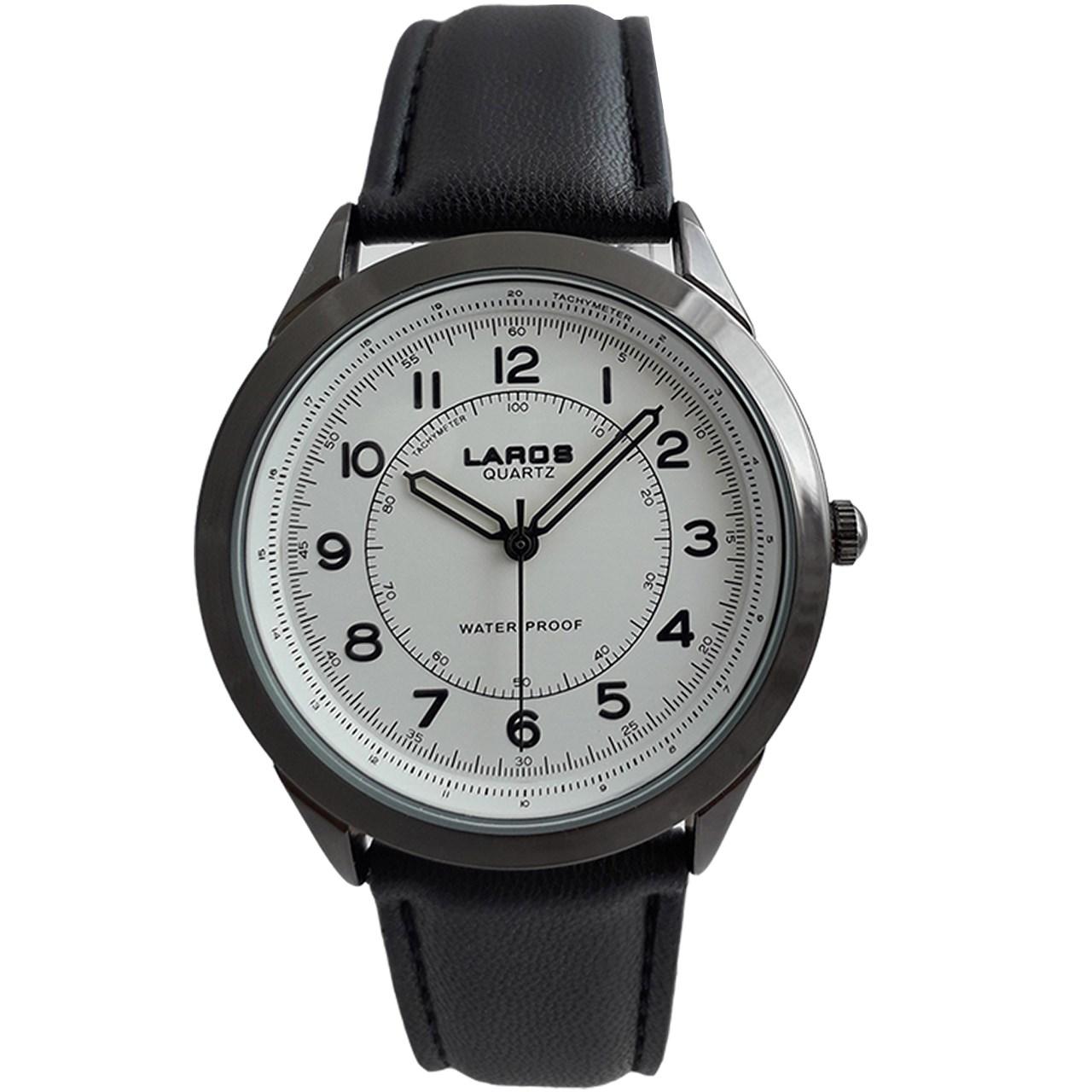 ساعت مچی عقربه ای مردانه لاروس مدل 80047S