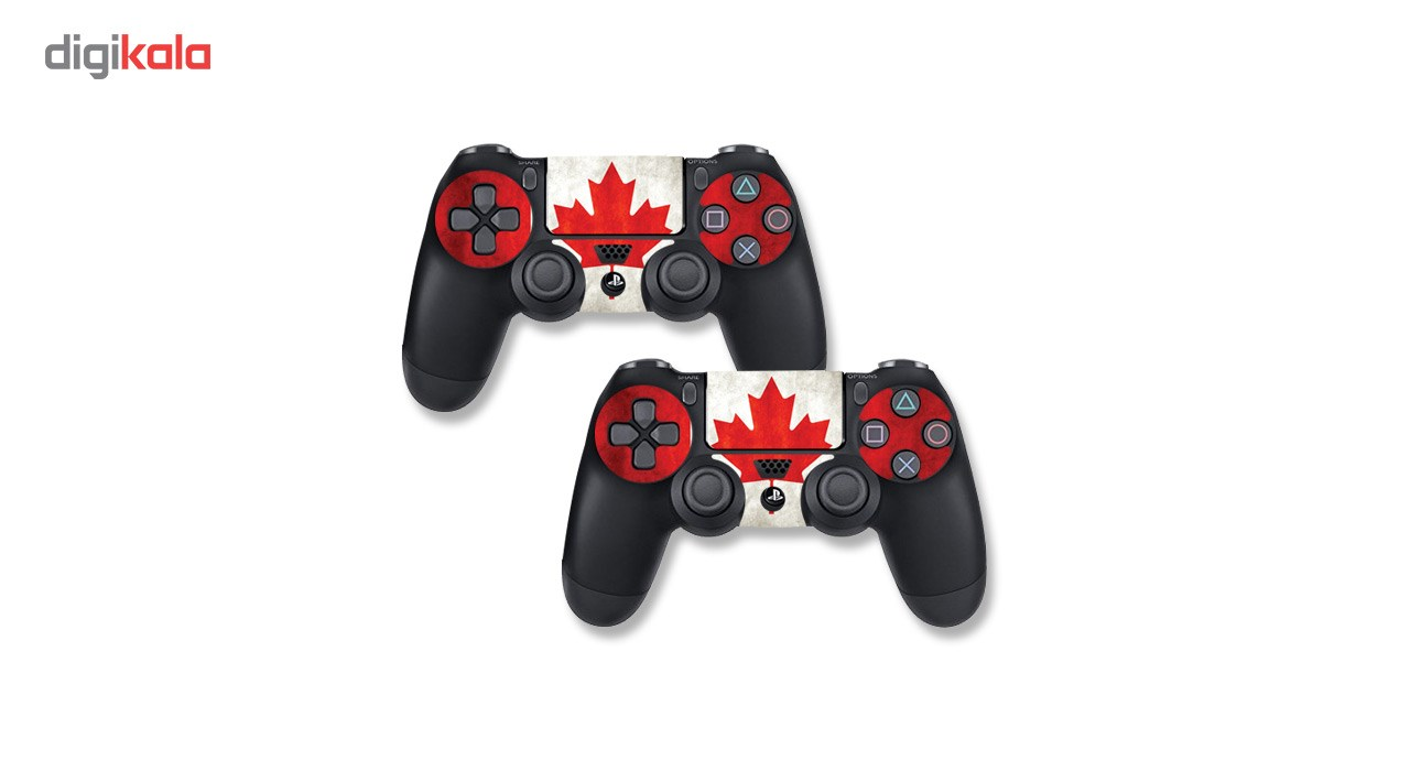 برچسب افقی پلی استیشن 4 پرو گراسیپا طرح Canada