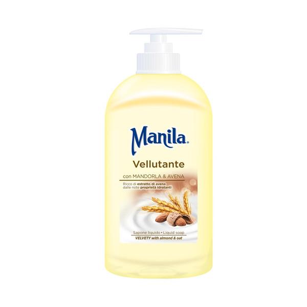 صابون مایع مانیلا مدل Smoothing velvety حجم 500 میلی لیتر