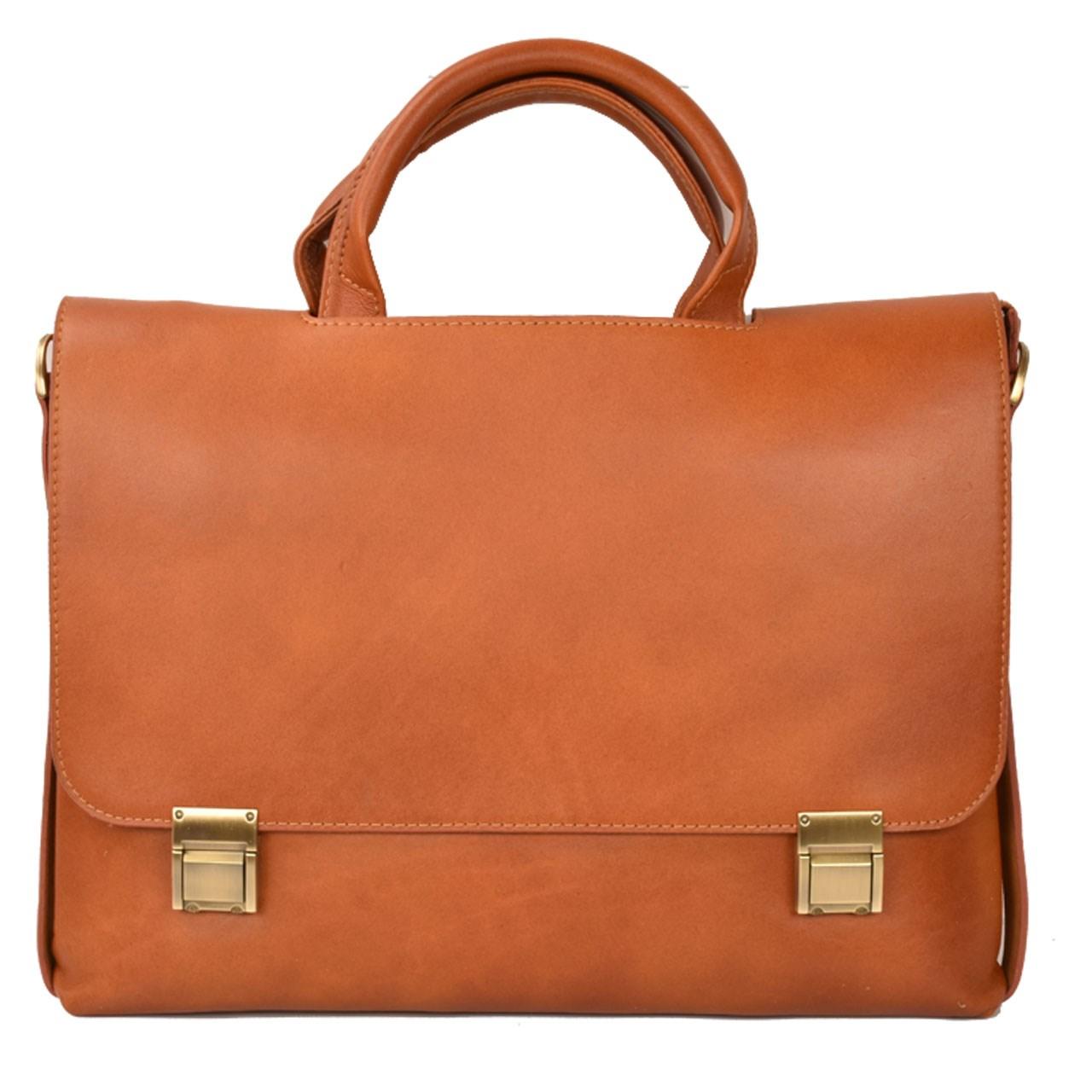 کیف اداری چرم طبیعی کهن چرم مدل L108-1