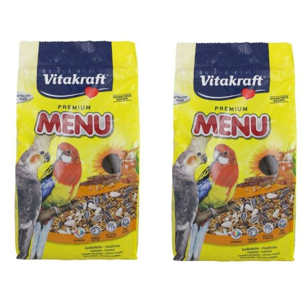 بسته دو عددی غذای خشک عروس هلندی ویتاکرافت مدل Premium Menu وزن 1 کیلوگرم