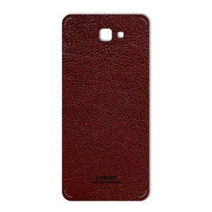 برچسب پوششی ماهوت مدلNatural Leather مناسب برای گوشی Samsung J7 Prime 2