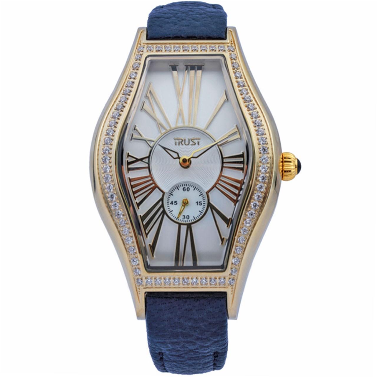 ساعت مچی عقربه ای زنانه تراست مدل L502BVI