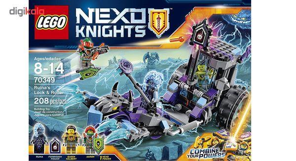 لگو سری Nexo Knights مدل Runias Lock And Roller 70349