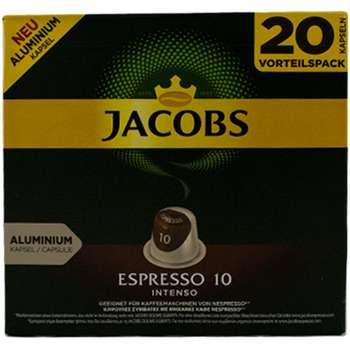 کپسول قهوه جاکوبز مدل Espresso Intenso بسته 20 عددی