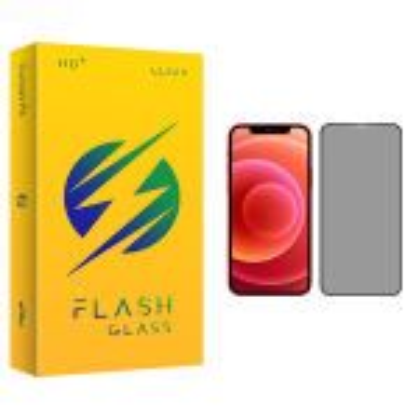 محافظ صفحه نمایش حریم شخصی فلش مدل +HD مناسب برای گوشی موبایل اپل iPhone 12 mini