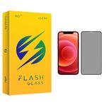 محافظ صفحه نمایش حریم شخصی فلش مدل +HD مناسب برای گوشی موبایل اپل iPhone 12 Pro Max