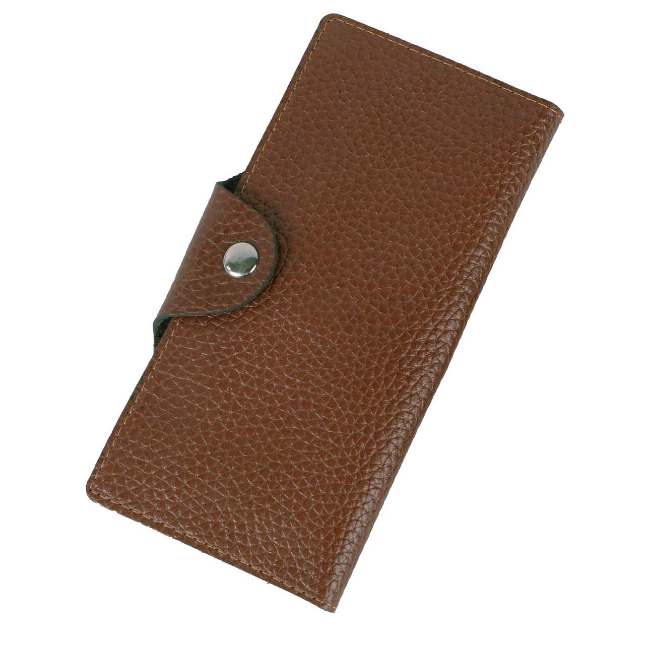 عکس کیف پول چرم ما مدل دکمه دار