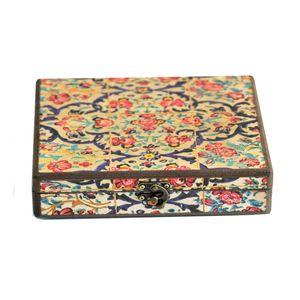 جعبه جواهرات چوبی وندا طرح نگار
