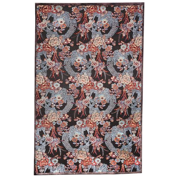 فرش ماشینی شنل مهتاب پارسیان طرح گلزار