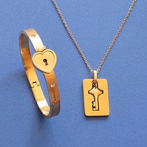 نیم ست مدل قفل و کلید