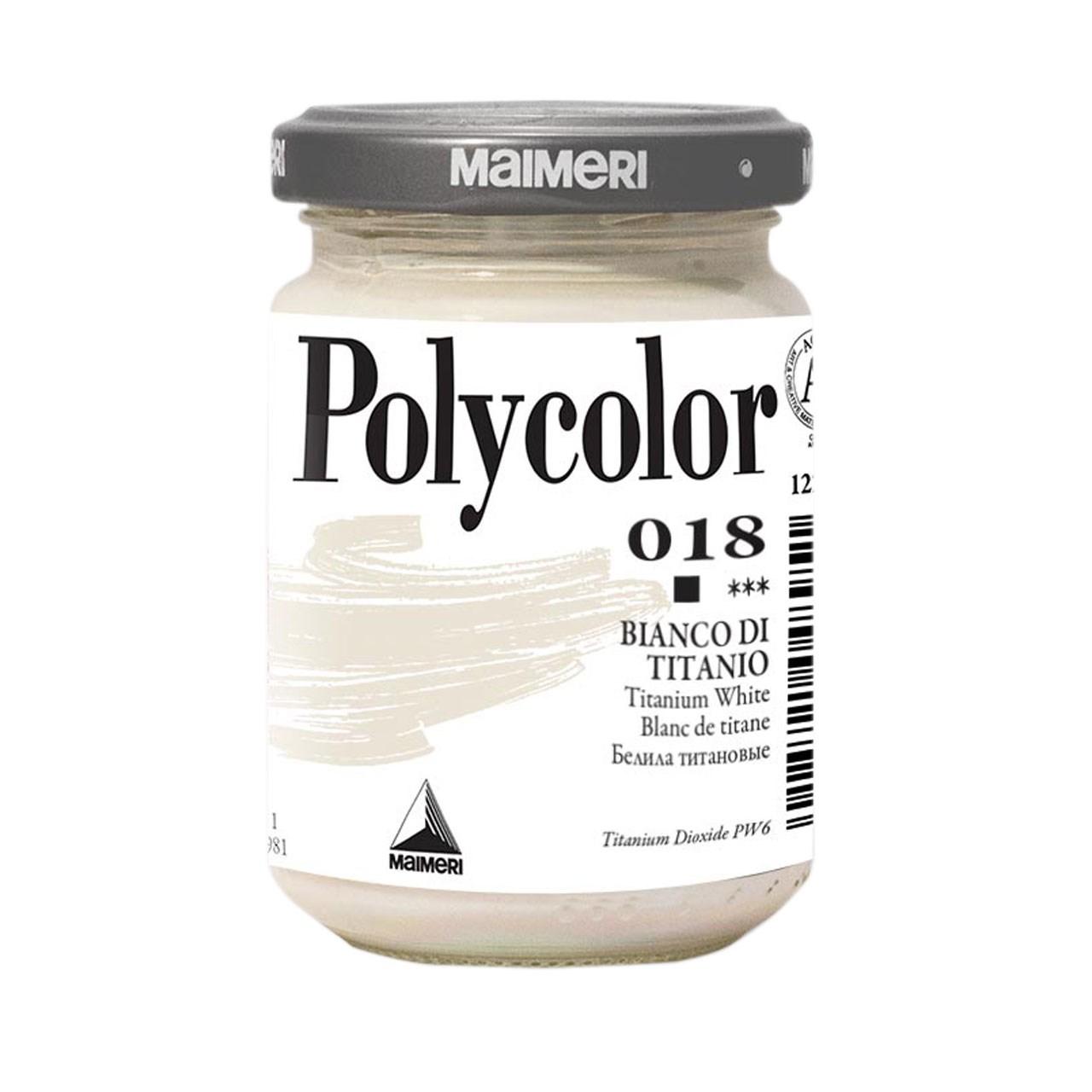 رنگ اکریلیک مایمری مدل Polycolor حجم 140 میلی لیتر