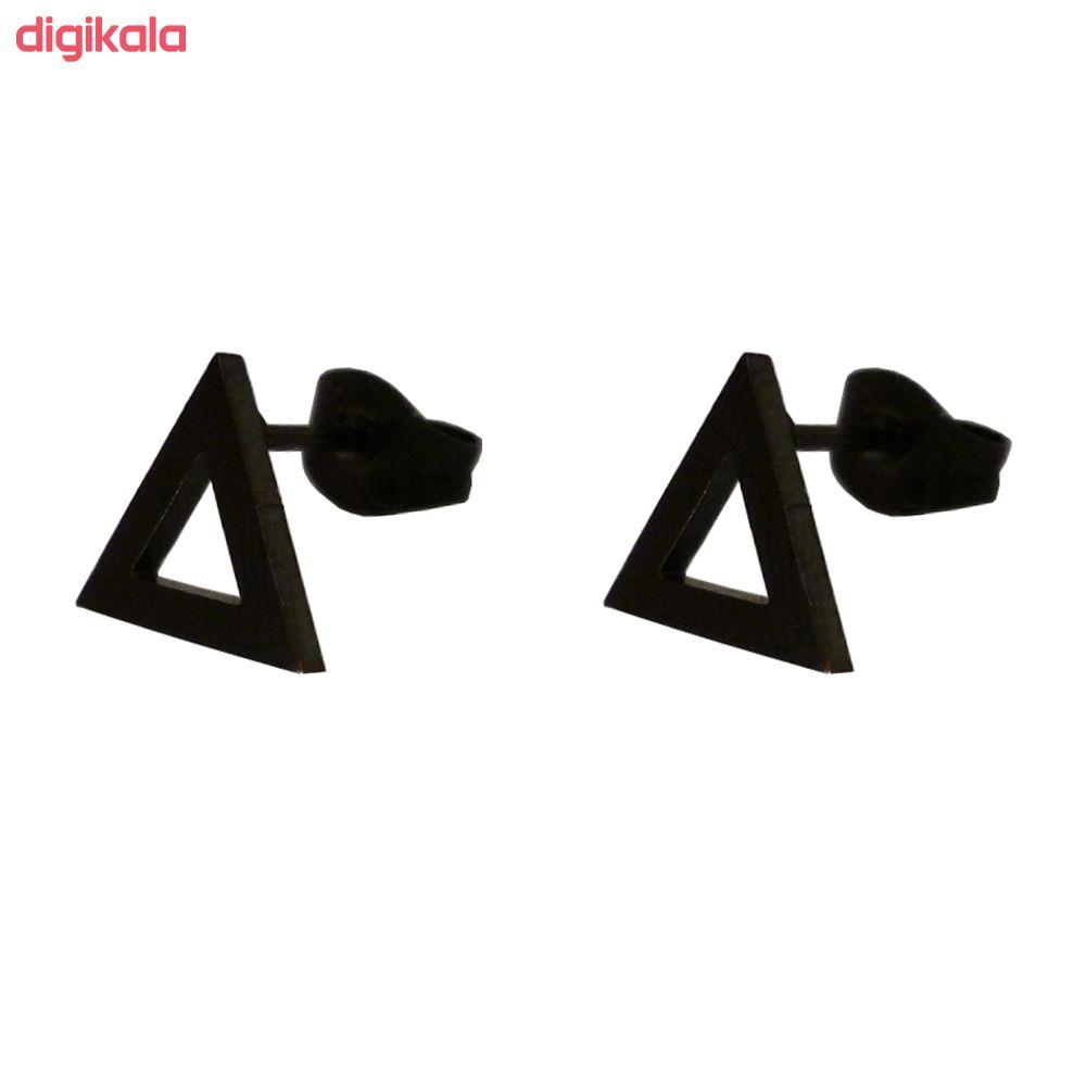 گوشواره زنانه طرح مثلث کد 018 main 1 1