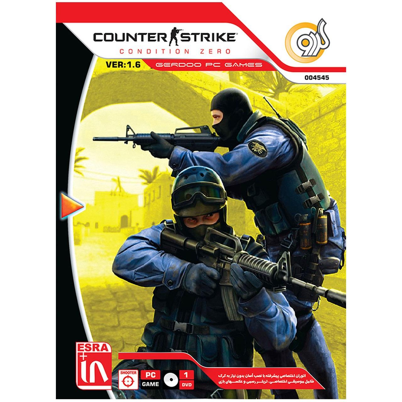 بازی Counter Strik 1.6 Condition Zero Asli مخصوص PC