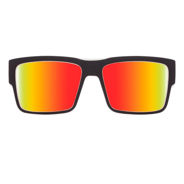 عینک آفتابی اسپای سری Cyrus مدل Whitewall Happy Red Spectra