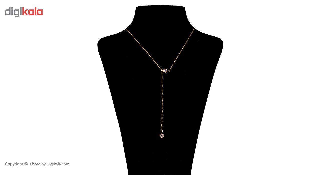 گردنبند طلا 18 عیار ماهک مدل MM0585 - مایا ماهک -  - 1