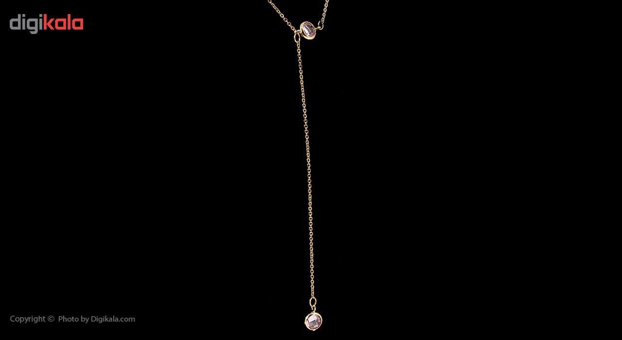 گردنبند طلا 18 عیار ماهک مدل MM0585 - مایا ماهک -  - 2