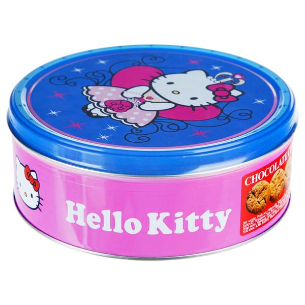 بیسکوییت با تکههای شکلات جکوبسنز مدل Hello Kitty مقدار 150 گرم
