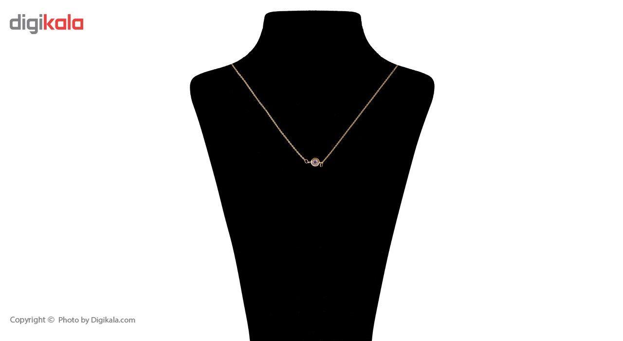 گردنبند طلا 18 عیار ماهک مدل MM0585 - مایا ماهک -  - 4