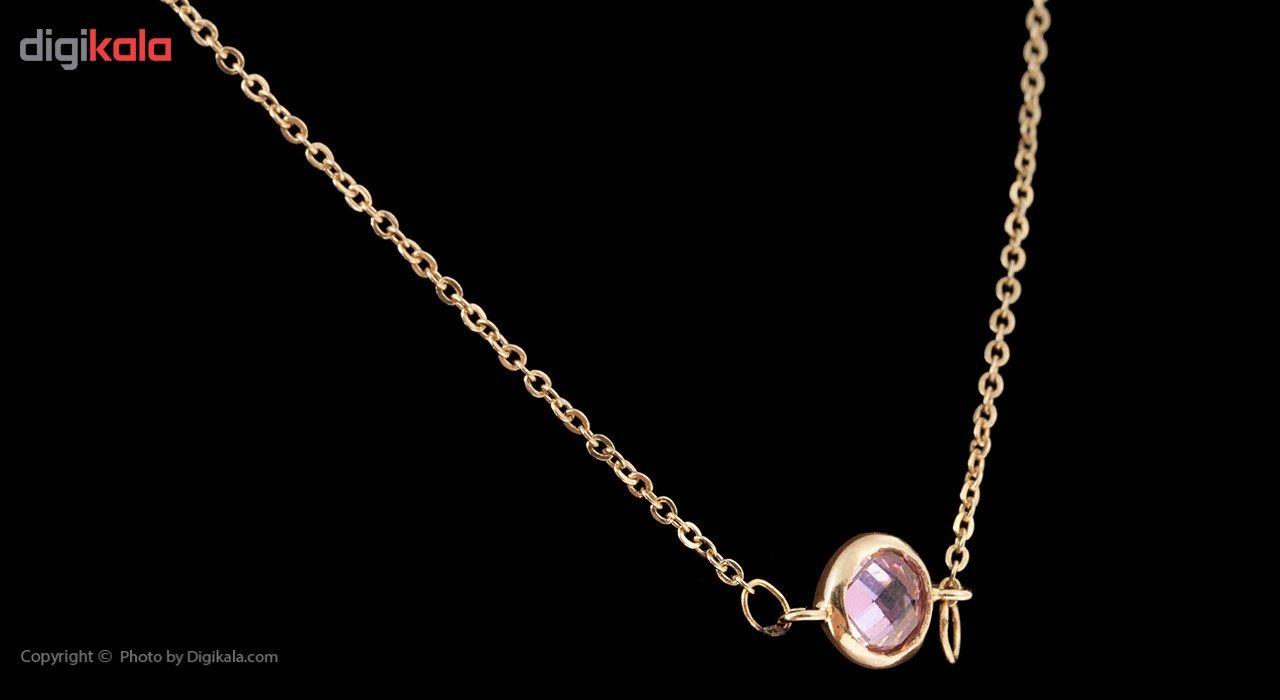 گردنبند طلا 18 عیار ماهک مدل MM0585 - مایا ماهک -  - 6