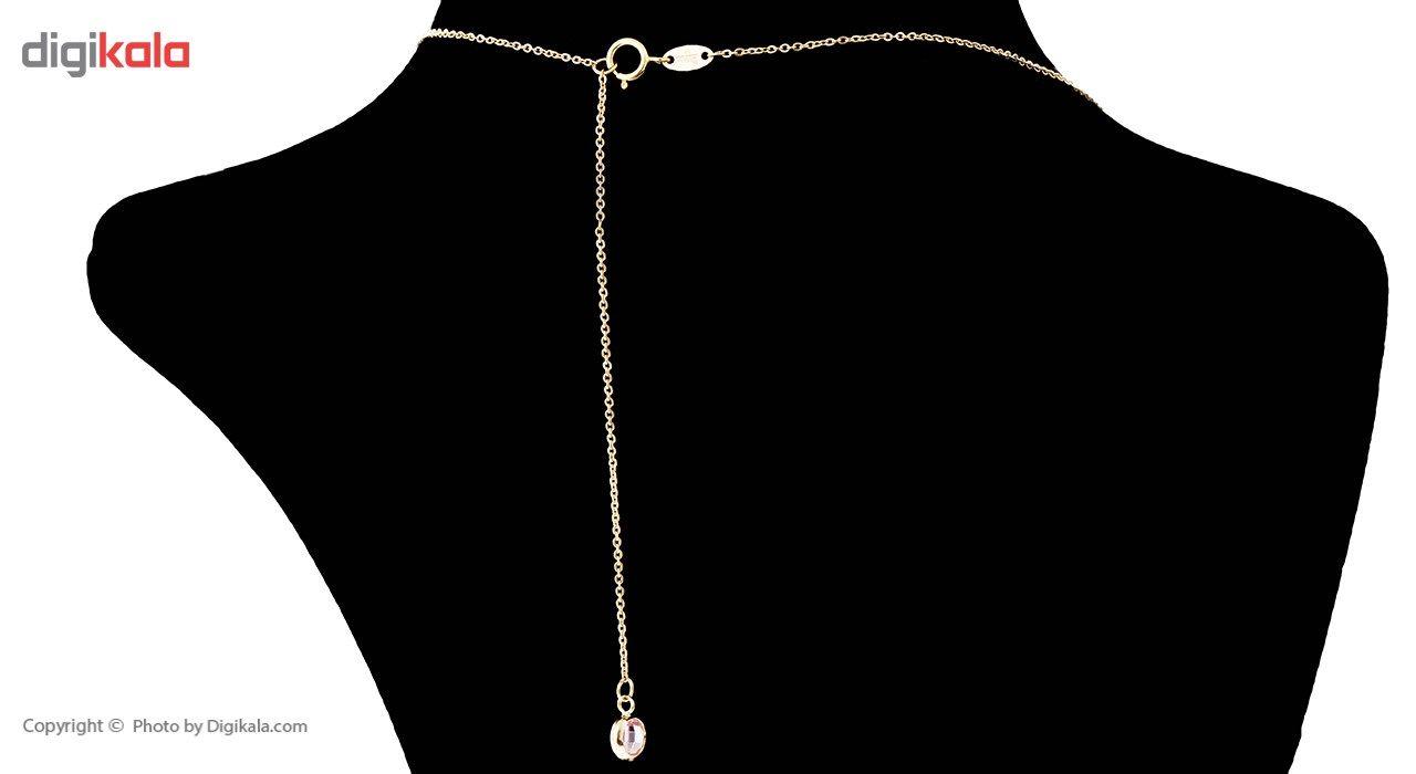 گردنبند طلا 18 عیار ماهک مدل MM0585 - مایا ماهک -  - 7