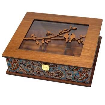 جعبه چایی کیسه ای و دمنوش  لوکس باکس  کد LB63