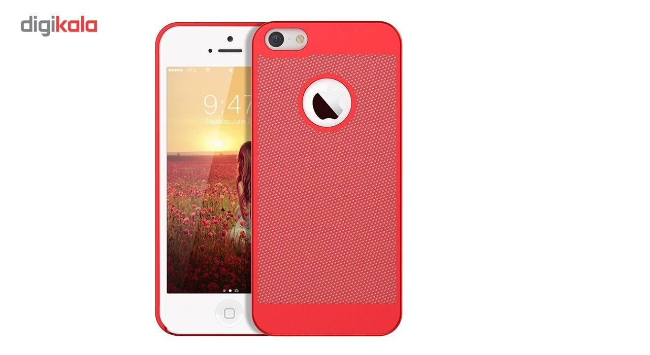 کاور مدل Hard Mesh مناسب برای گوشی موبایل آیفون 5/5s/Se main 1 2