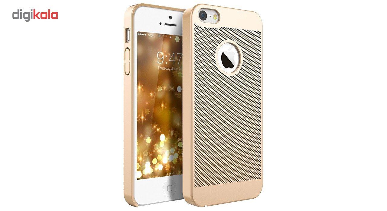 کاور مدل Hard Mesh مناسب برای گوشی موبایل آیفون 5/5s/Se main 1 4