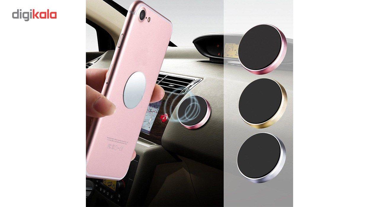 پایه نگه دارنده گوشی موبایل مدل Universal magnetic mount main 1 3