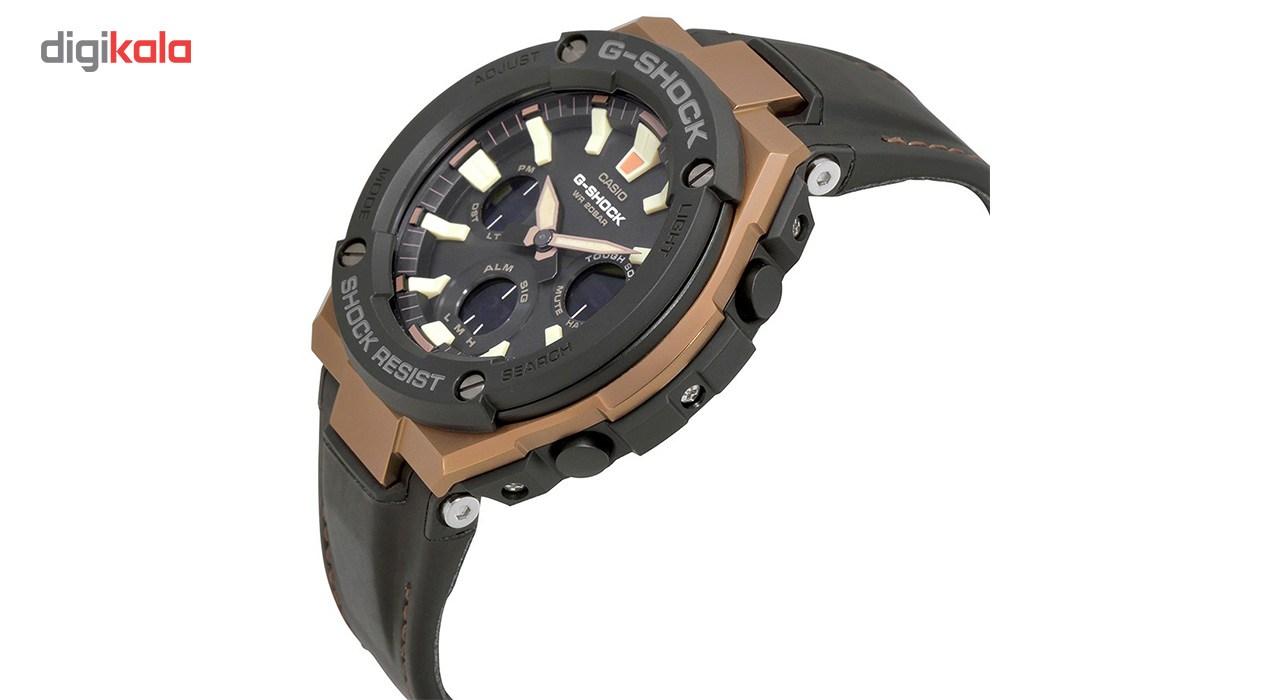 خرید ساعت مچی عقربه ای مردانه کاسیو جی شاک مدل GST-S120L-1ADR | ساعت مچی