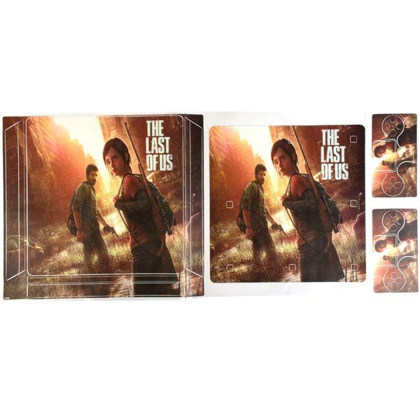 برچسب پلی استیشن 4 اسلیم مدل The Last Of Us