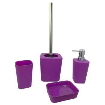ست سرویس بهداشتی ونکو مدل Rainbow Purple