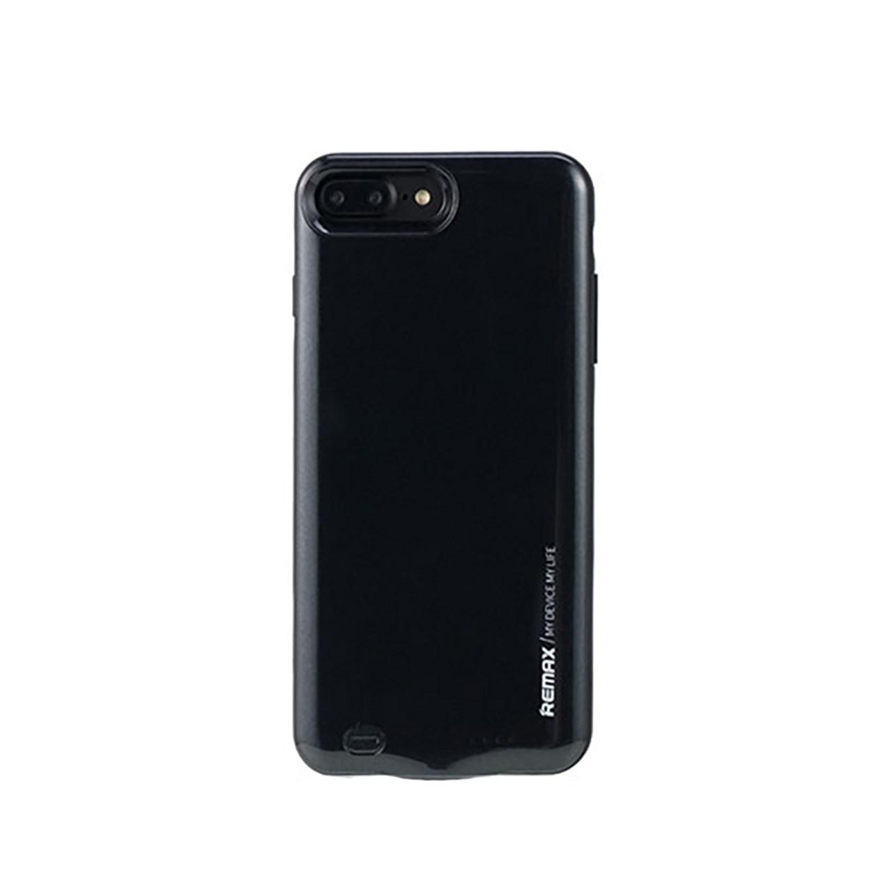عکس کاور شارژ ریمکس مدل Energy Jacket ظرفیت 3400 میلی آمپر ساعت مناسب برای گوشی موبایل اپل iPhone 7plus