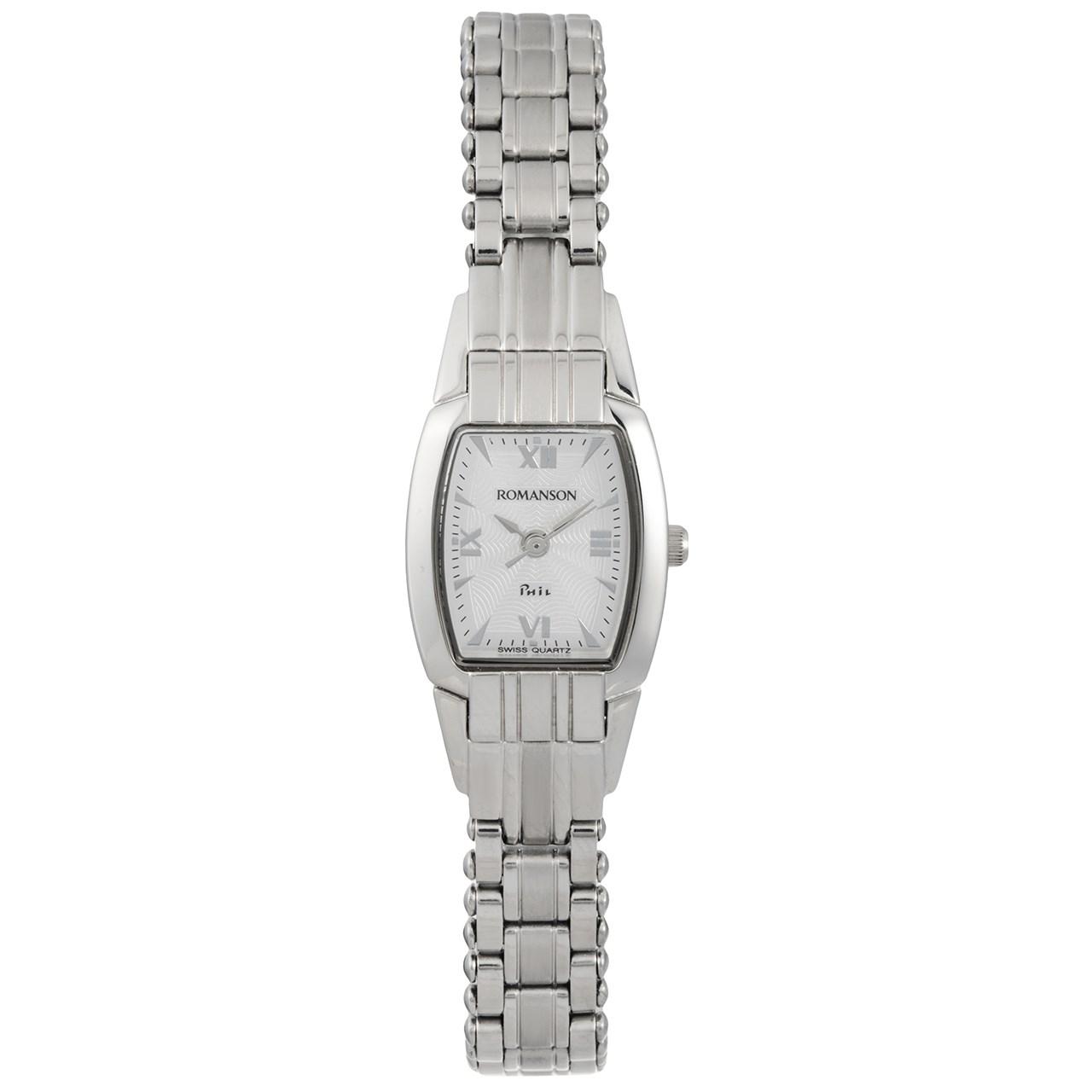 ساعت مچی عقربه ای زنانه رومانسون مدل NM9957LL1WAS2W 50
