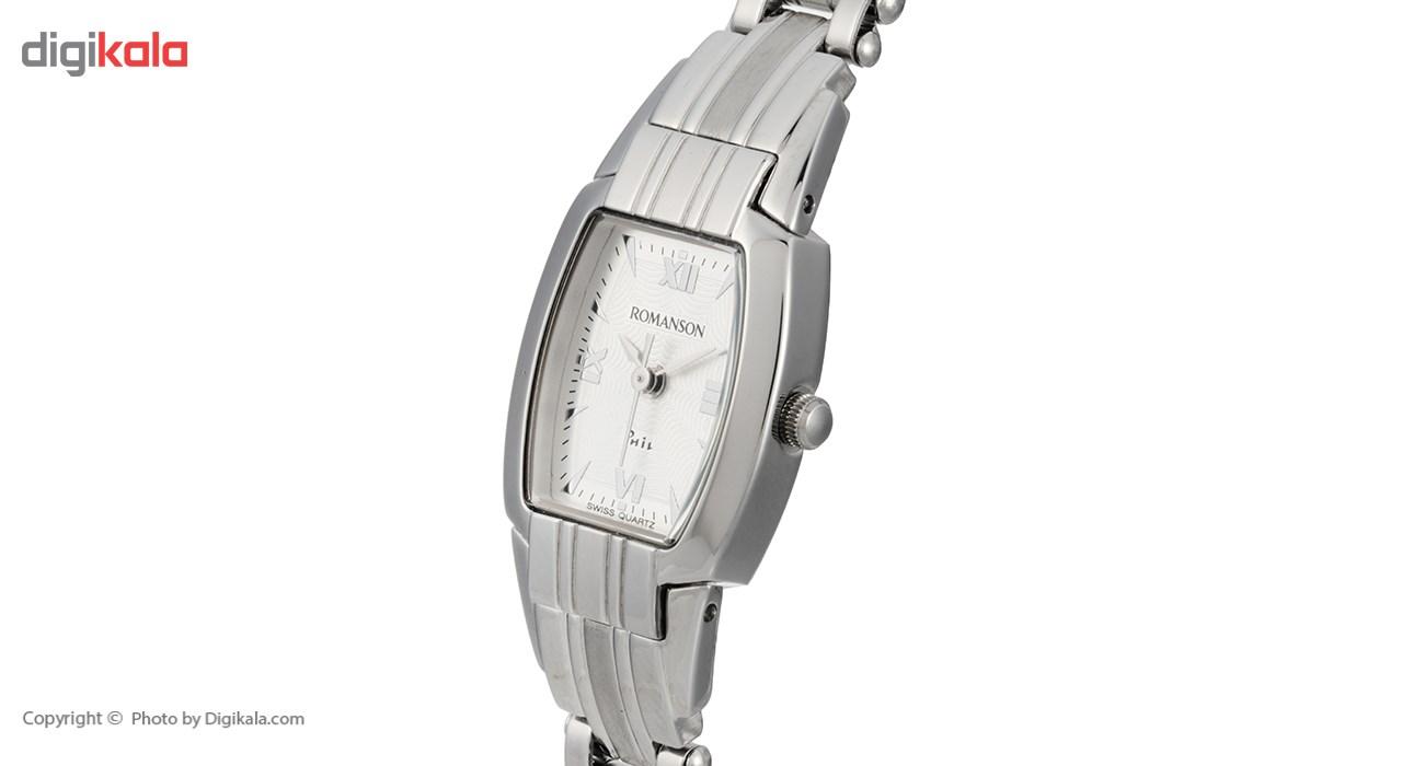 ساعت مچی عقربه ای زنانه رومانسون مدل NM9957LL1WAS2W              خرید (⭐️⭐️⭐️)