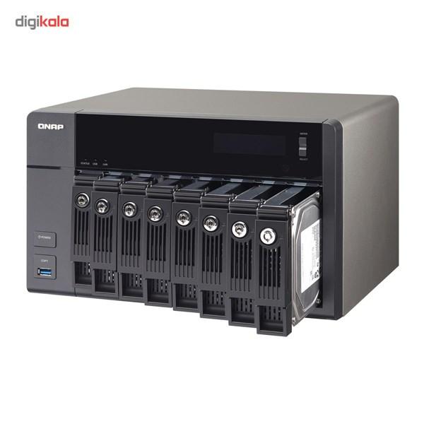 ذخیره ساز تحت شبکه کیونپ مدل TS-853 Pro 8G بدون هارددیسک