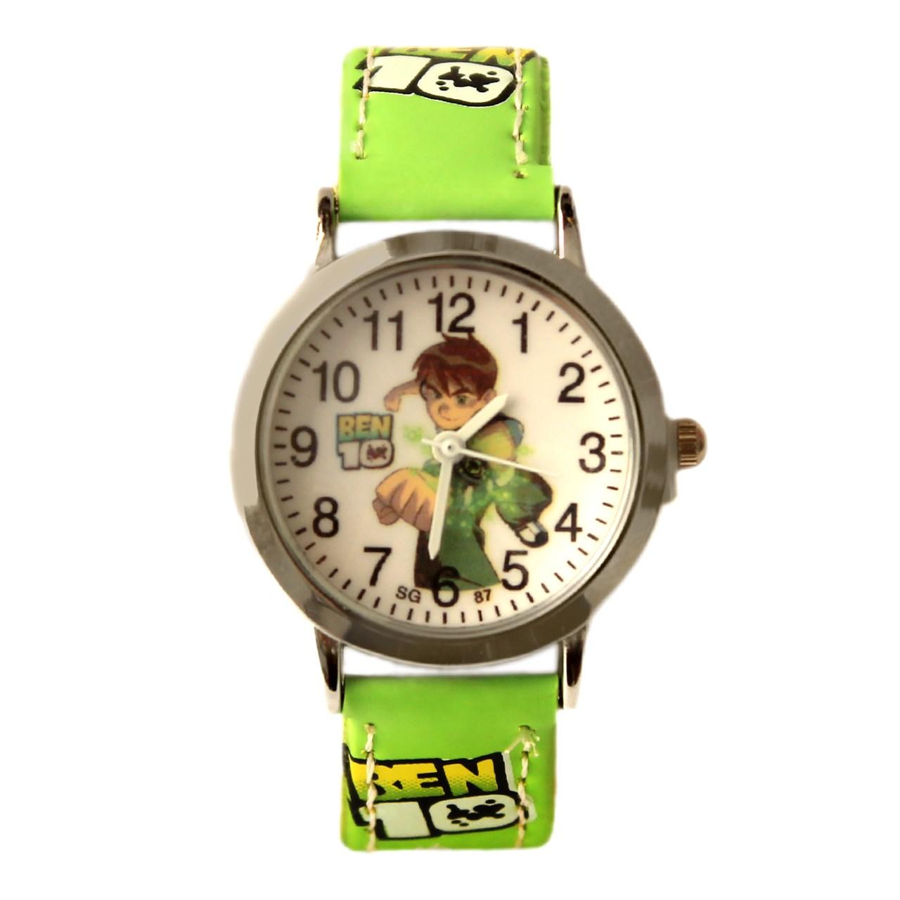 ساعت مچی عقربه ای بچگانه مدل Ben10
