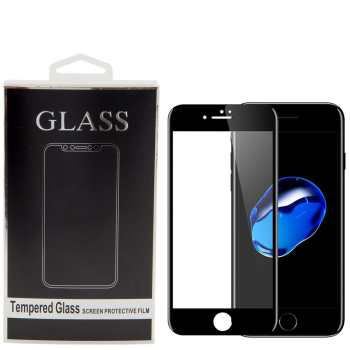 محافظ صفحه نمایش تمام چسب شیشه ای مدل 5D مناسب برای گوشی اپل آیفون 7