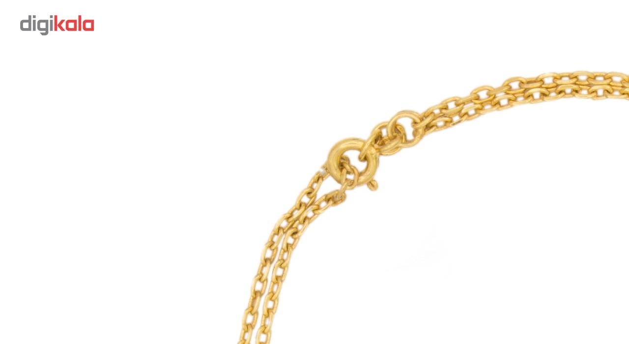 دستبند نقره زنانه طرح اسلیمی مدل Vnd01